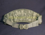 US ARMY MOLLE II DIGITAL ACU CAMO MOLDED WAIST BELT NICE CONDITION