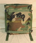 US MILITARY Woodland Molle 2 Radio Pouch NICE CONDITION