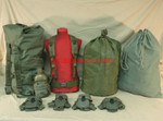 US GI MILITARY Lot Canteen & Pouch / Dufffle Bag / Ammo Pouches / Cotton Laundry Bag / Scent Lock Bag / Suspenders / LARGE Web Belt VERY GOOD CONDITION