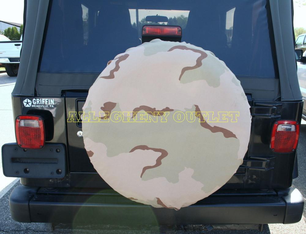 USGI Military SNOW CAMO ALICE PACK COVER SPARE TIRE  COVER VGC