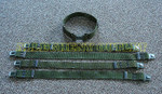 QTY 5 US MILITARY Med Pistol Web Belts Grey QR Buckle NICE