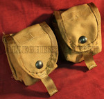 LOT of 2 MOLLE II SDS Grenade Pouches COLOR: COYOTE BROWN NEW / UNISSUED CONDITION
