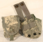 GENUINE U.S. MILITARY ISSUE USGI ACU Digital Single Hand Grenade Pouches Lot of 2 VERY GOOD CONDITION