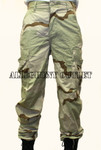 GENUINE U.S. MILITARY ISSUE 3 Color Desert Camo NYCO Ripstop DCU Pants Size: EXTRA SMALL / LONG NEW / UNISSUED CONDITION