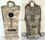 U.S. ARMY MILITARY 100 oz. 3 Litters SDS MOLLE II Hydration Carrier ACU CAMO NO BLADDER INCLUDED VERY GOOD CONDITION