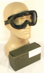 GENUINE U.S. MILITARY ISSUE USGI MILITARY ARMY SUN WIND DUST SAFETY GOGGLES NEW IN BOX CONDITION