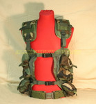US GENUINE MILITARY Camo ENHANCED LBV Load Bearing Vest w/ LARGE Pistol Belt MAKES A GREAT PAINTBALL VEST NEW / LIKE NEW CONDITION LBV AND VERY GOOD CONDITION BELT