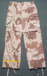 US MILITARY 6 Color Desert Storm CAMO Pants SIZE SMALL / SHORT NEW / UNISSUED CONDITION