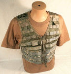 GENUINE U.S. MILITARY ISSUE ACU MOLLE II FIGHTING LOAD CARRIER VEST FLC VERY GOOD CONDITION