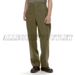 GENUINE U.S. MILITARY ISSUE OD GREEN WOOL PANTS ZIPPER FLY CLOSURE SMALL / REGULAR BRAND NEW / UNISSUED CONDITION