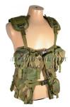 USGI Military Tactical Woodland Camo LOAD BEARING VEST LBV Vietnam Era NICE
