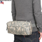 MOLLE II Waist Pack Butt/Fanny Hip Bag Digital ACU Camo Genuine US Military VGC