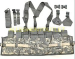 US Military Army MOLLE ACU CHEST RIG TACTICAL ASSAULT PANEL (TAP) Complete NIB