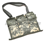 2 TWO US Military 6 Magazine ACU Bandoleer Pouch, MOLLE Mag Ammo Pouch NEW
