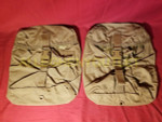 Lot of 2 US Military USMC FILBE SUSTAINMENT POUCH Eagle MOLLE Coyote NIB