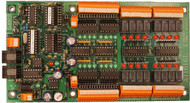 AT1616L - RS485 / RS232 Microprocessor Based I/O Board