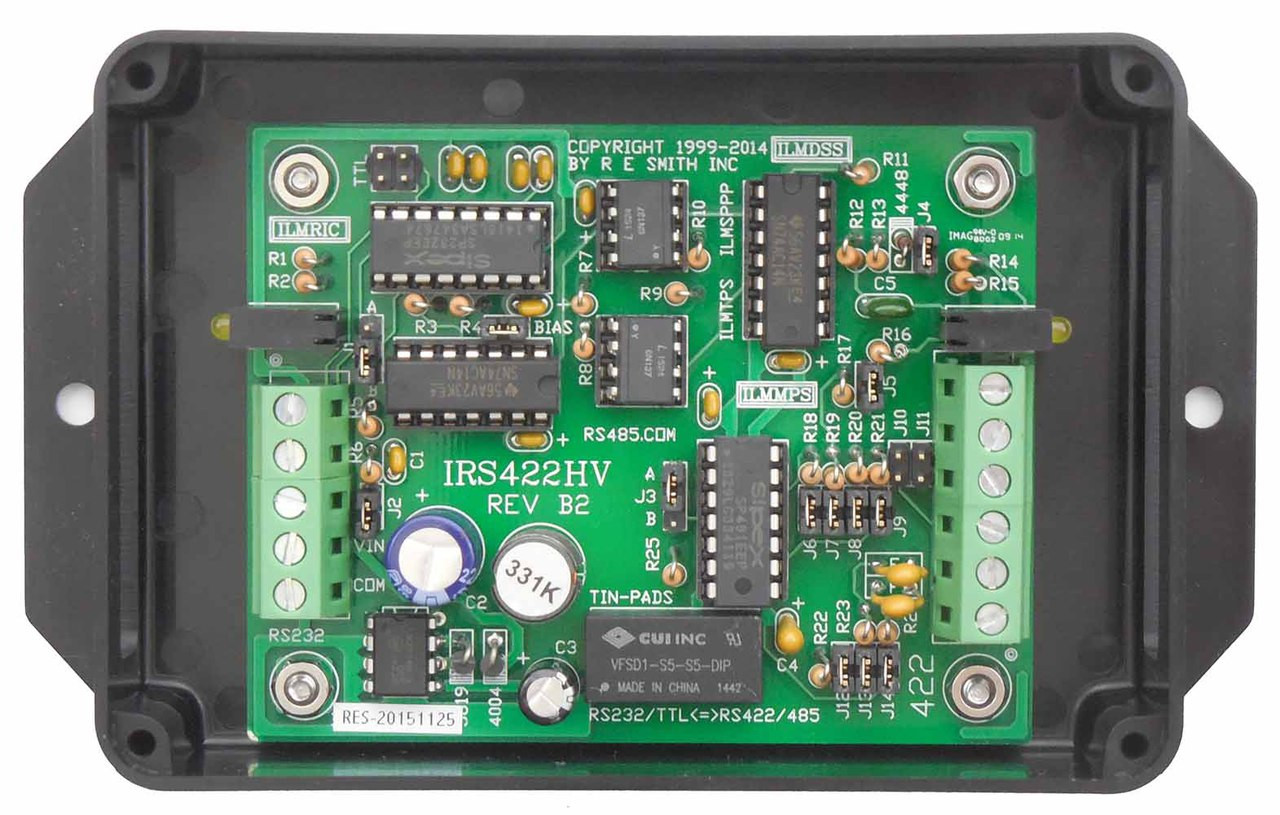 IRS422HV-BSPS - RS232 to RS485 / RS232 to RS422 Bidirectional Converter
