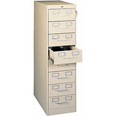 Latent Print Card Storage Cabinet