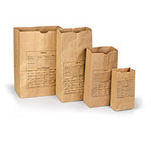 Kraft Evidence Bags, Pre-Printed, Medium, 100 ea