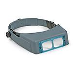 OptiVisor Glass Binocular Magnifier, 2X