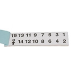 Adhesive Numbers Booklet, Large