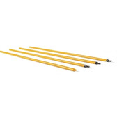 Protrusion Rod Set, Yellow, 4-Piece