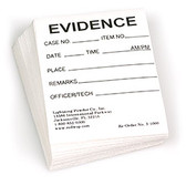 "Labels, Evidence, 2"" x 2"", Pack of 100"