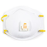 Dust and Mist Respirator with Release Valve, Carton of 10
