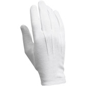 White Parade Gloves, 12 Pairs