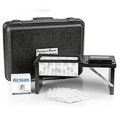 Portable Fingerprint Kit with Porelon Pad, Folding Stand and Case