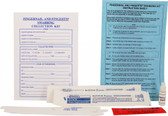 Fingernail and Fingertip Swabbing Evidence Collection Kit 25/Case