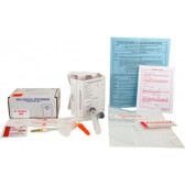 Blood Specimen Collection Kit (Two Blood Tubes) 25/Case