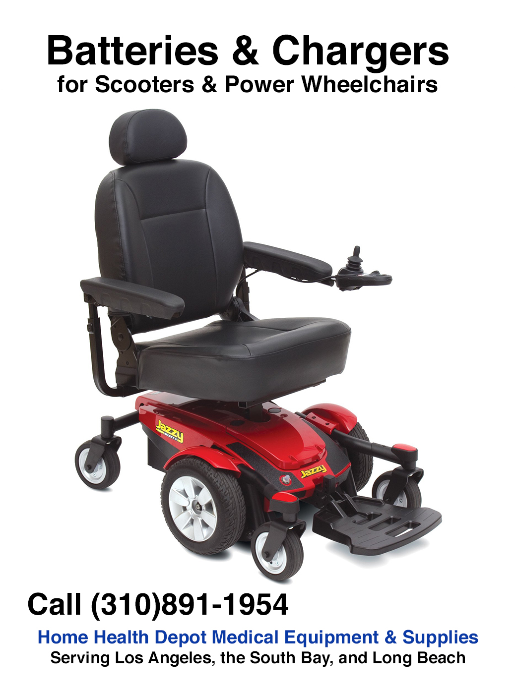 Battery & Charger | Mobility Scooter & Power Wheelchair Batteries | Los Angeles, South Bay, Carson, Torrance, San Pedro, Palos Verdes, Santa Monica, Lomita, Long Beach, Redondo Beach, Harbor City, Compton, Gardena, Hawthorne, Manhattan Beach, Segundo