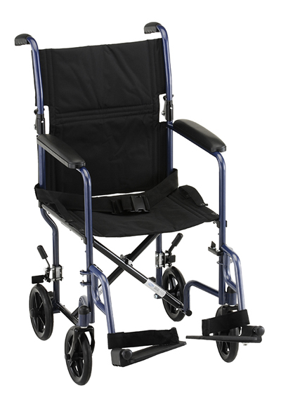 Nova 319 Steel Transport Wheelchair - Home Health Depot Medical Equipment & Supplies   Rental   Service & Repair   Delivery   Los Angeles, South Bay, Long Beach, Lomita, Carson, Torrance, San Pedro, Palos Verdes, Santa Monica, San Pedro