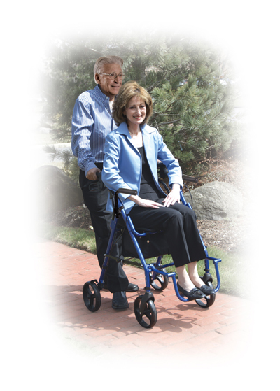 Rolling Walker & Transport Wheelchair | Drive Duet | Medical Equipment | Home Health Depot | (310) 891-1954 | Rental | Service & Repair | Delivery | Los Angeles, South Bay, Long Beach, Lomita, Carson, Torrance, San Pedro, Palos Verdes, Santa Monica