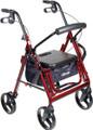 Drive Duet: Rollator & Transport Chair