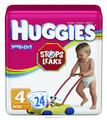 Huggies® Snug & Dry Disposable Diapers KBC52124PK