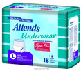 Attends® Underwear™ Super Plus Absorbency with Leakage Barriers