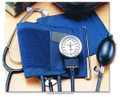 Invacare® Self-Monitoring Home Blood Pressure Kits with Attached Stethoscope