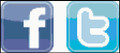 Facebook Tweeter Button Logos