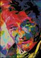 Abstract John Wayne