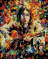 John Lennon Abstract