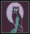 Retro Owl Of The Night