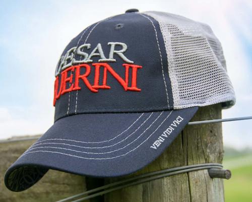 Caesar Guerini Mesh Cap-Navy