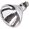 125 Watt BR-40 Clear Infrared Heat Bulb -