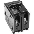 Circuit Breaker; 15 Amp, 120/240 Volt AC, 2-Pole, Plug-On Mount