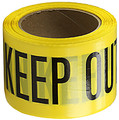 "3"" X 1000' Barricade Tape 3 Mil Keep Out - Yellow"