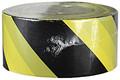 "3"" X 1000' Barricade Tape 3 Mil Stripe Black/Yellow"