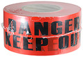 "3"" X 1000' Barricade Tape 3 Mil Danger Keep Out - Red"