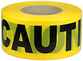 "3"" X 1000' Barricade Tape 3 Mil Caution - Yellow"